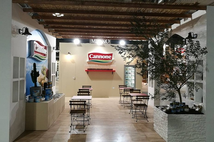 Stand Tutto Food Cannone Industrie Alimentari